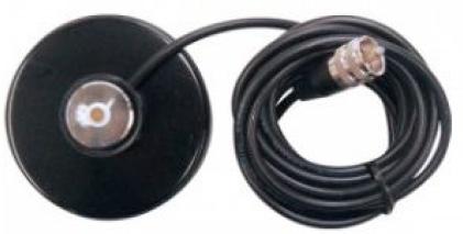 Apricot Base Magnética para Antena A1M0G01, 3 Metros, Negro