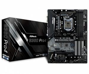 Tarjeta Madre ASRock ATX B360 PRO4, S-1151, Intel B360, HDMI, 64GB DDR4 para Intel ― Compatibles solo con 8va & 9va Generación