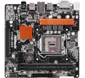 Tarjeta Madre ASRock micro ATX H110M-DGS, S-1151, Intel H110, 32GB DDR4, para Intel