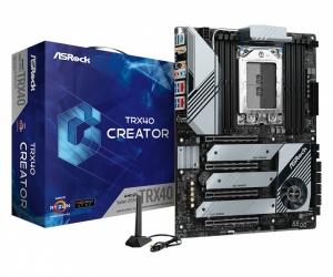 Tarjeta Madre ASRock ATX TRX40 Creator, S-sTRX4, AMD TRX40, 256GB DDR4 para AMD