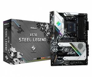 Tarjeta Madre ASRock ATX X570 Steel Legend, S-AM4, AMD X570, HDMI, 128GB DDR4 para AMD
