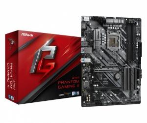 Tarjeta Madre ASRock ATX Z490 Phantom Gaming 4, S-1200, Intel Z490, 128GB DDR4 para Intel