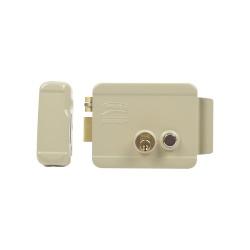 Assa Abloy Cerrradura Electromecánica 321-DCBD-ABG, con Botón, para Puerta Izquierda