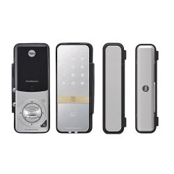 Assa Abloy Cerradura Inteligente con Teclado Touch YDG313, Plata/Negro