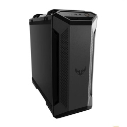 Gabinete ASUS TUF Gaming GT501 con Ventana RGB, Midi Tower, ATX/EATX/Micro ATX/Mini-ITX, USB 3.1, sin Fuente, Negro