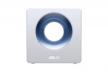 Router ASUS Gigabit Ethernet Dual Band AC2600 Blue Cave con AiMesh, Inalámbrico, 1734 Mbit/s, 4x RJ-45, 2.4/5GHz, 4 Antenas