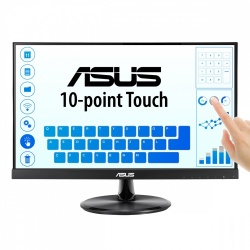 Monitor ASUS VT229H W-LED Touch 21.5'', Full HD, Widescreen, HDMI, Bocinas Integradas (2 x 1.5W), Negro