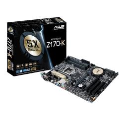 Tarjeta Madre ASUS ATX Z170-K 5X Protection II, S-1151, Intel Z170, HDMI/3.1, 64GB DDR4, para Intel ― Requiere Actualización de BIOS para trabajar con Procesadores de 7ma Generación