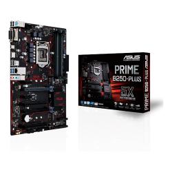 Tarjeta Madre ASUS ATX PRIME B250-PLUS, S-1151, Intel B250, HDMI, 64GB DDR4 para Intel