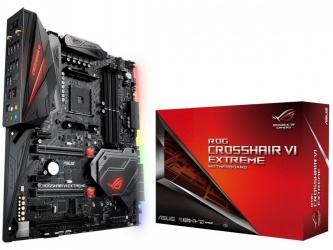 Tarjeta Madre ASUS ATX-E ROG CROSSHAIR VI EXTREME, S-AM4, AMD X370, 64GB DDR4, para AMD