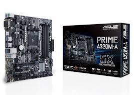 Tarjeta Madre ASUS micro ATX A320M-A, S-AM4, AMD A320, HDMI, 32GB DDR4, para AMD