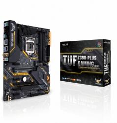 Tarjeta Madre ASUS TUF Z390-PLUS GAMING (WI-FI), S-1151, Intel Z390, 64GB DDR4 para Intel ― Compatibles solo con 8va & 9va Generación