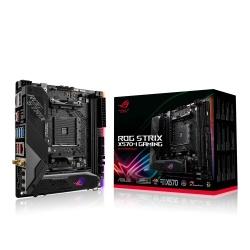 Tarjeta Madre ASUS Mini ITX ROG Strix X570-I Gaming, S-AM4, AMD X570, HDMI, 64GB DDR4 para AMD Ryzen