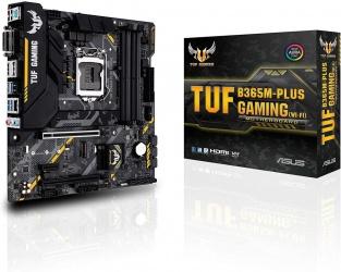 Tarjeta Madre ASUS micro ATX TUF B365M-Plus Gaming (WI-FI), S-1151, Intel B365, HDMI, 64GB DDR4 para Intel