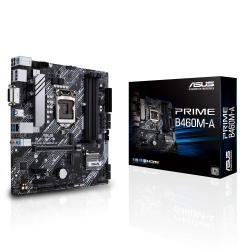 Tarjeta Madre ASUS Micro ATX PRIME B460M-A, S-1200, Intel B460, HDMI, 128GB DDR4, para Intel