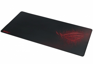 Mousepad ASUS ROG Sheath, 90 x 44cm, Grosor 3mm, Negro/Rojo