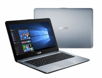 Laptop ASUS VivoBook Max A441NA-GA313T 14'', Intel Celeron N3350 1.10GHz, 4GB, 500GB, Windows 10 Home 64-bit, Plata
