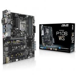 Tarjeta Madre ASUS ATX P10S WS, S-1151, Intel C236, USB 2.0/3.0, 64GB DDR4, para Intel