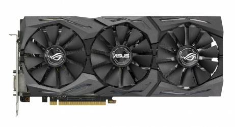 Tarjeta de Video ASUS NVIDIA GeForce GTX 1080 STRIX Gaming, 8GB 256-bit GDDR5X, PCI Express 3.0