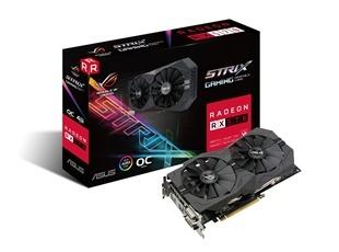 Tarjeta de Video ASUS AMD Radeon RX 570, 4GB 256-bit GDDR5, PCI Express 3.0