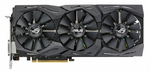 Tarjeta de Video ASUS NVIDIA GeForce GTX 1080 TI STRIX GAMING OC, 11GB 352-bit GDDR5X, PCI Express 3.0