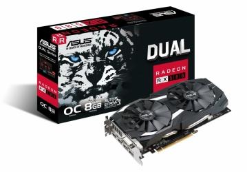 Tarjeta de Video ASUS AMD Radeon RX 580 OC, 8GB 256-bit GDDR5, PCI Express 3.0