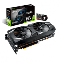 Tarjeta de Video ASUS NVIDIA GeForce RTX 2070 DUAL OC, 8GB 256-bit GDDR6, PCI Express 3.0 ― ¡Compra y recibe Game Ready Bundle