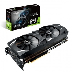 "Tarjeta de Video ASUS NVIDIA GeForce RTX 2080 Dual, 8GB 256-bit GDDR6, PCI Express x16 3.0 ― ¡Compre y reciba Game Ready Bundle ""Call of Duty: Modern Warfare""! (Un código por cliente)"