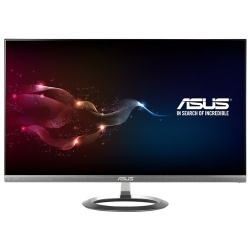 Monitor ASUS MX25AQ LED 25'', Quad HD, Widescreen, HDMI, Negro/Plata