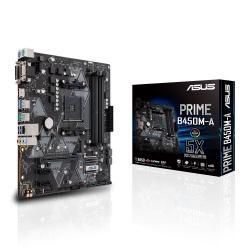 Tarjeta Madre ASUS Micro ATX PRIME B450M-A, S-AM4, AMD B450, HDMI, 64GB DDR4 para AMD