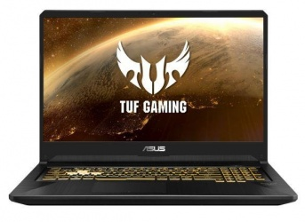 "Laptop Gamer ASUS TUF Gaming TUF705DU-PB74 17.3"" Full HD, AMD Ryzen 7 3750H 2.30GHz, 16GB, 512GB SSD, NVIDIA GeForce GTX 1660 Ti, Windows 10 Home 64-bit, Negro ― Teclado en Inglés"