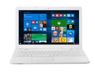 Laptop ASUS VivoBook X541SA 15.6'', Intel Pentium N3710 1.60GHz, 4GB, 500GB, Windows 10 Home 64-bit, Blanco