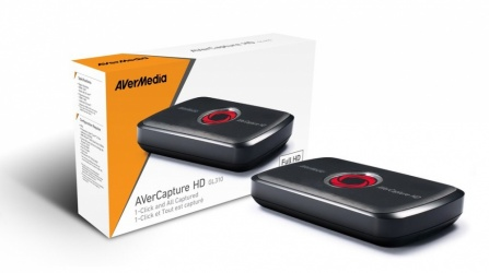 AVerMedia Capturadora de Video USB 2.0, 2x HDMI, 1920 x 1080 Pixeles, Negro
