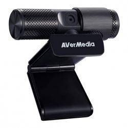 AVerMedia Webcam PW313, 2MP, 1920 x 1080 Pixeles, USB, Negro