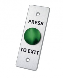 Axceze Botón de Salida AX-B80, Alámbrico, Verde