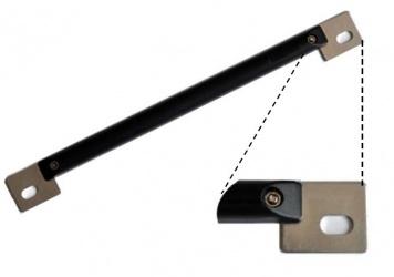 Axceze Tag Especial para Vehiculos Blindados, Compatible con ONE820 - para Instalarse Junto con la Placa