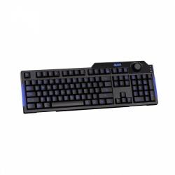 Teclado Gamer Azio L70 LED Azul, Alámbrico, USB, Negro (Inglés)
