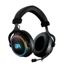 Audífonos Gamer Balam Rush Orphix RGB 7.1, Alámbrico, USB, Negro