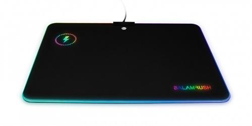Mousepad Gamer Balam Rush Heimdall RGB, 25.6 x 35.6cm, Grosor 4mm, Negro