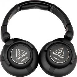Behringer Audífonos HPX6000, Alámbrico, 3 Metros, 3.5mm, Negro