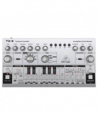 Behringer Sintetizador Analógico TD-3, MIDI, USB, Gris