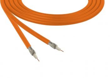 Belden Bobina de Cable Coaxial RG-59, 305 Metros, Naranja
