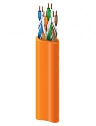 Belden Bobina de Cable Cat6+ UTP Trenzado, 305 Metros, Naranja