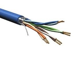 Belden Bobina de Cable Cat6+ FTP, 304 Metros, Azul