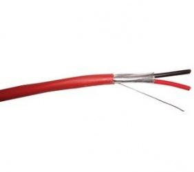 Belden Bobina de Cable para Alarma de Incendio, 305 Metros, Rojo
