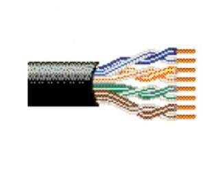 Belden Bobina de Cable Cat5e UTP de 4 Pares, 305 Metros, Negro