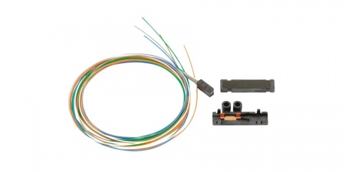 Belden Cable Fibra Óptica de 12 HIlos, 250/900µm, Multicolor