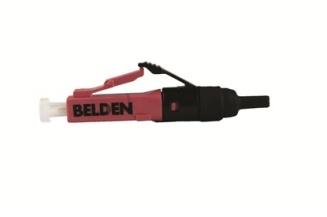 Belden Conector LC Multimodo, Negro/Violeta