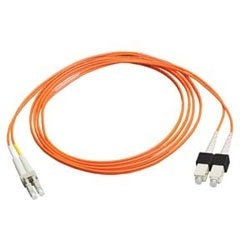 Belden Cable Fibra Óptica OM1 LC Macho - SC Macho, 3 Metros, Naranja