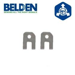 Belden Cuchillas de Repuesto para Pinza Crimpeadora RVUTB01, Plata